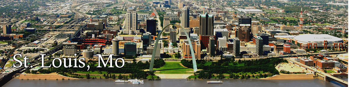 saint louis missouri daytime skyline