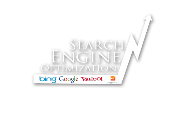 Graphic of growth with SEO